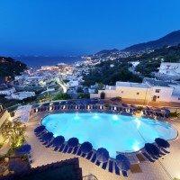 Hotel Terme San Lorenzo Ischia Piscina panoramica