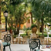 Hotel Ambasciatori dettagli giardino