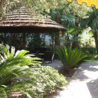 Park Hotel La Villa Resort gazebo nel giardino