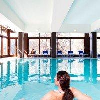 Hotel San Sicario Majestic Cesana Torinese piscina