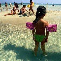GranSerena Hotel Village bambini al mare