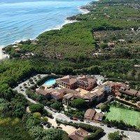Hotel Torre Moresca aerea sud