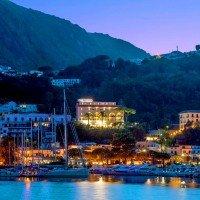 Hotel Terme Gran Paradiso panoramica dal mare
