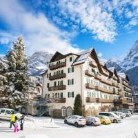 Hotel Majestic Dolomiti panorama esterno
