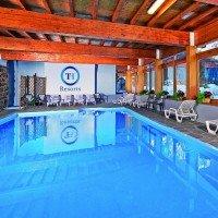 Hotel Majestic Dolomiti piscina