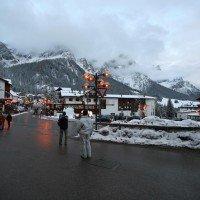 Hotel Majestic Dolomiti esterno strada