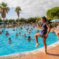 Villaggio Club Bahja a Paola animazione bordo piscina
