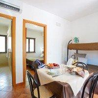 Offerte Villaggio Club Bahja a Paola Cosenza camera quadrupla letto a castello