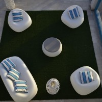 Hotel Resort Casteldoria Mare dettagli area relax