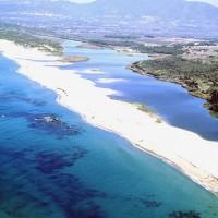 Veduta aerea Spiaggia San Pietro Valledoria Sassari