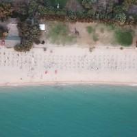 Sayonara Club Hotel Village vista aerea della spiaggia