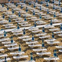 Hotel Club Helios lettini spiaggia