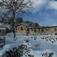 Borgo Donna Teresa struttura innevata