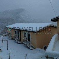 Borgo Donna Teresa paesaggio invernale