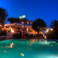 Hotel La Luna  piscina notturno